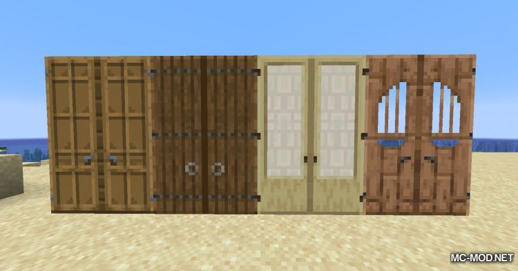 Dramatic Doors mod for Minecraft (6)
