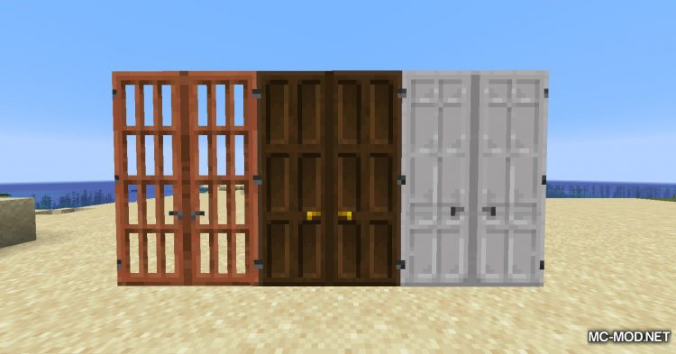 Dramatic Doors mod for Minecraft (7)