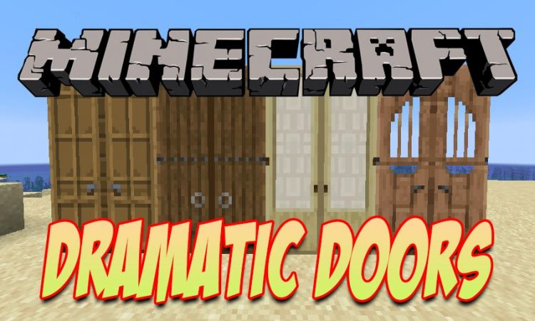 Dramatic Doors mod for Minecraft logo