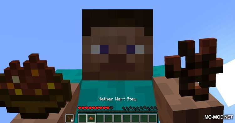 Edible Nether Wart mod for Minecraft (5)