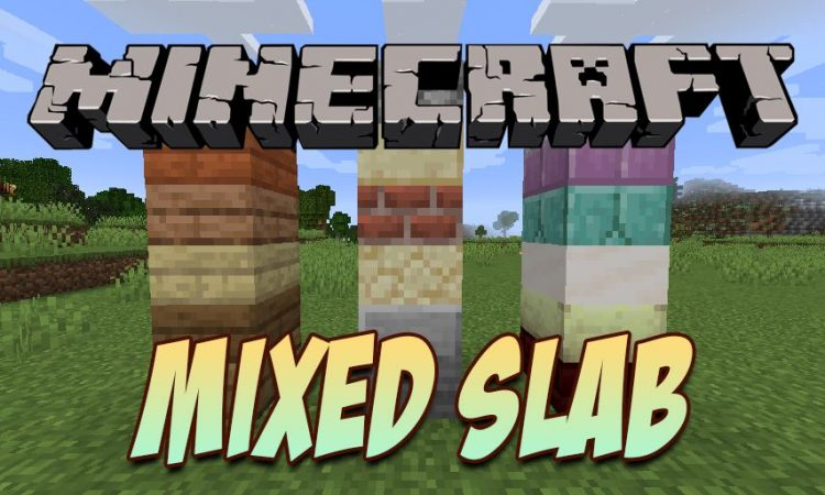 Mixed Slab mod for Minecraft logo