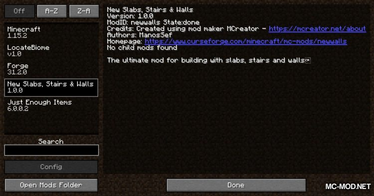 New Slabs, Stairs _ Walls mod for Minecraft (1)