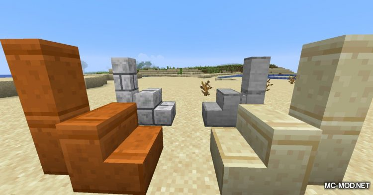 New Slabs, Stairs _ Walls mod for Minecraft (4)