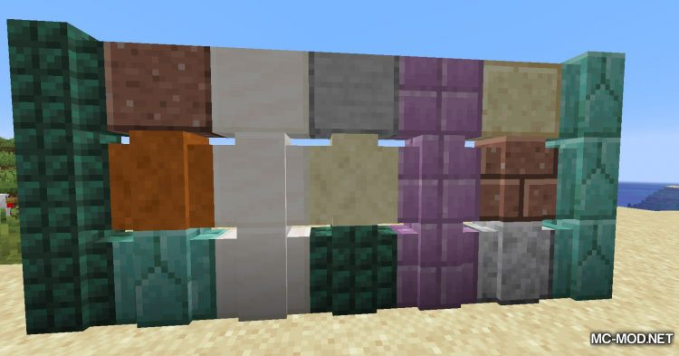 New Slabs, Stairs _ Walls mod for Minecraft (6)