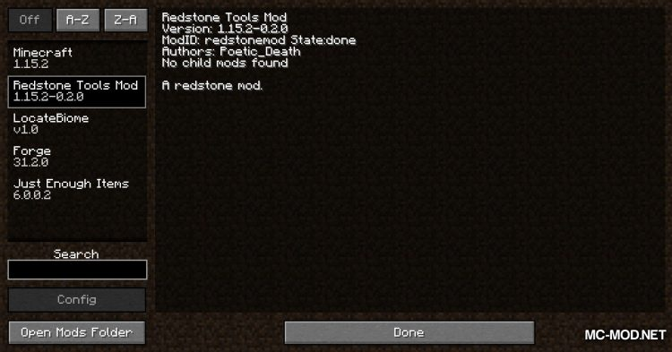 Redstone Tools mod for Minecraft (1)