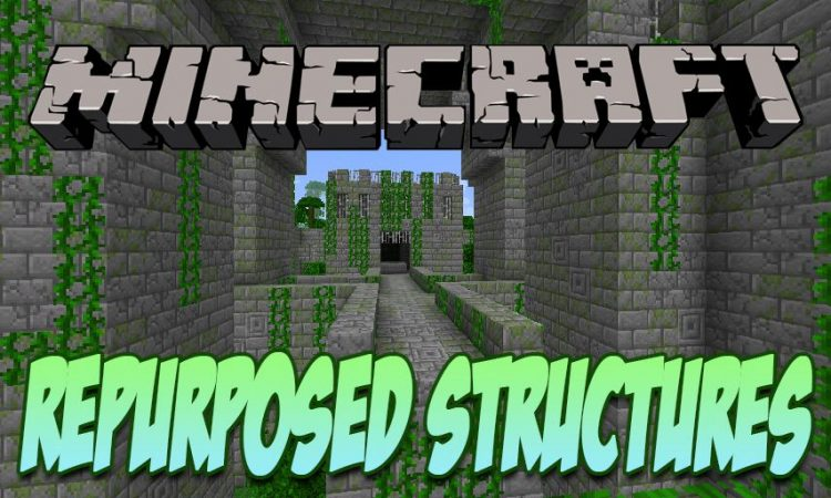 Repurposed Structures mod for Minecraft logo