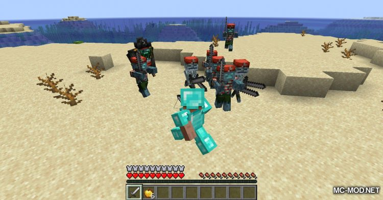 Rotten Creatures mod for Minecraft (11)
