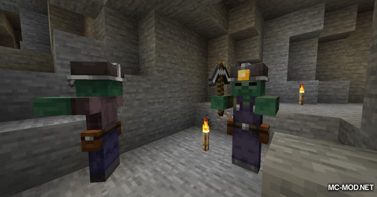 Rotten Creatures mod for Minecraft (2)