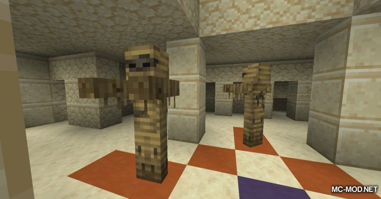 Rotten Creatures mod for Minecraft (8)