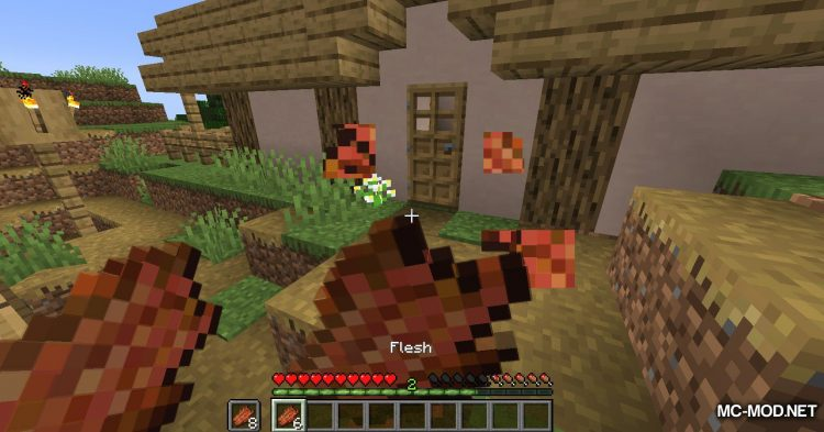 Rotten Flesh To Food mod for Minecraft (12)