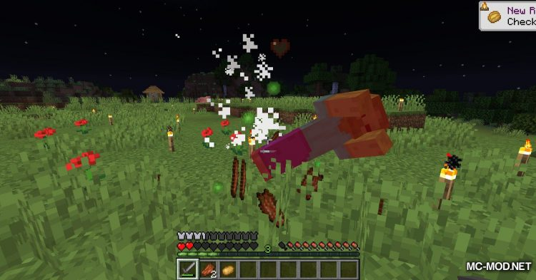 Rotten Flesh To Food mod for Minecraft (6)