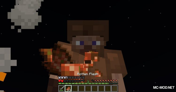 Rotten Flesh To Food mod for Minecraft (7)