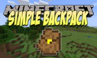 Simple Backpack mod for Minecraft logo