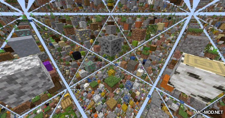 Skygrid mod for Minecraft (11)