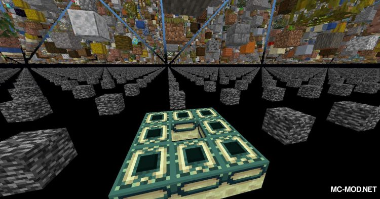 Skygrid mod for Minecraft (13)