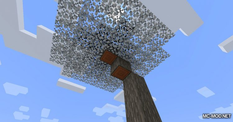 Snowy Leaves mod for Minecraft (12)