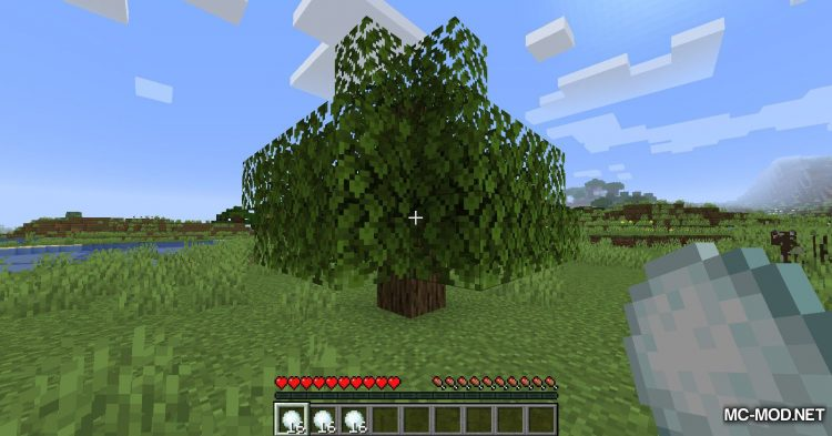Snowy Leaves mod for Minecraft (7)