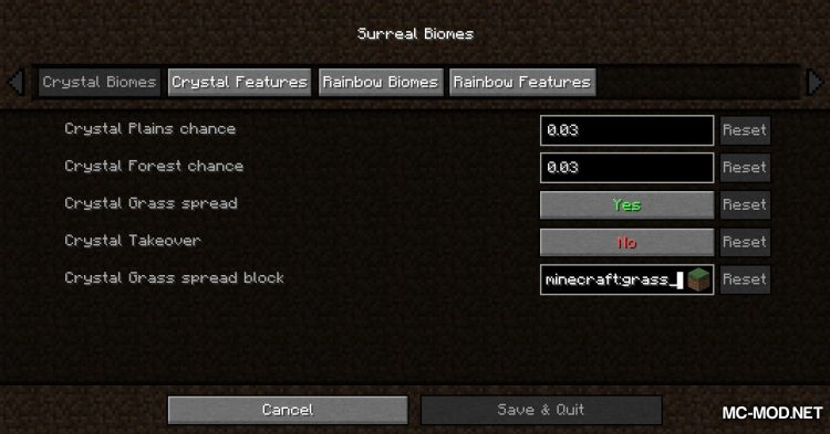 Surreal Biomes mod for Minecraft (2)