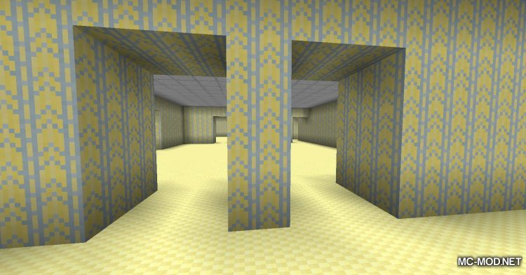 The Backrooms mod for Minecraft (10)