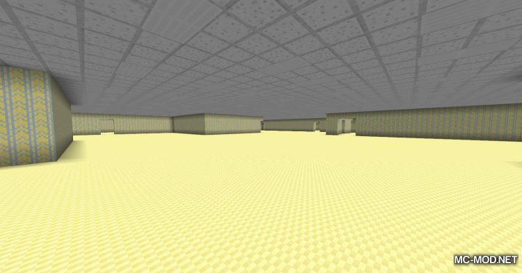 The Backrooms mod for Minecraft (12)