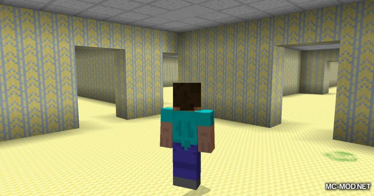 The Backrooms mod for Minecraft (14)