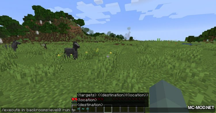 The Backrooms mod for Minecraft (4)