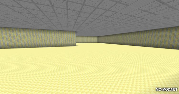 The Backrooms mod for Minecraft (9)