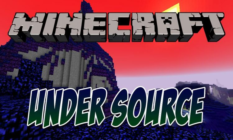 Under Source mod for Minecraft logo