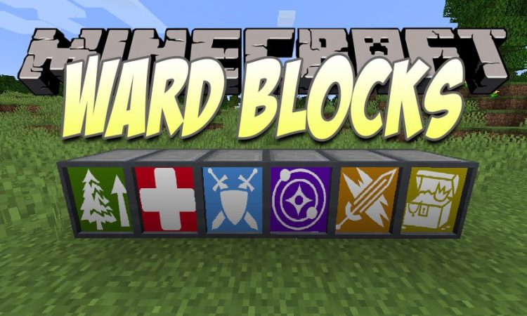 Ward Blocks mod for Minecraft logo
