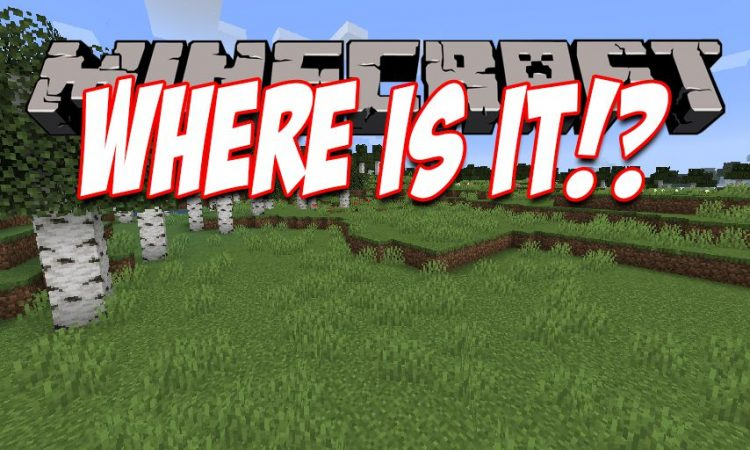 Where Is It mod for Minecraft logo