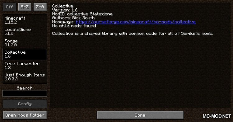 Collective mod for Minecraft (1)