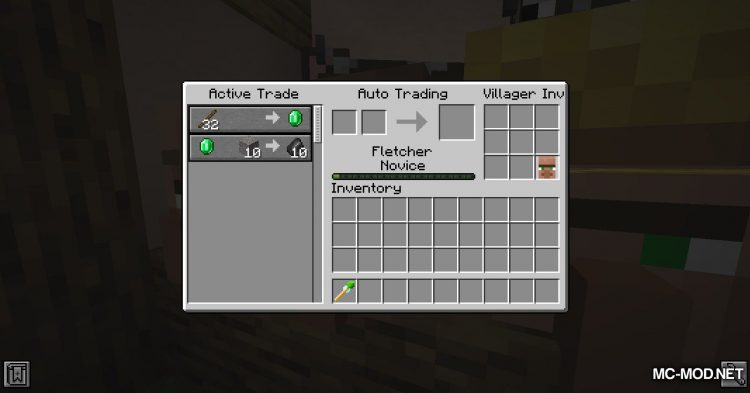 Cubic Villager mod for Minecraft (10)