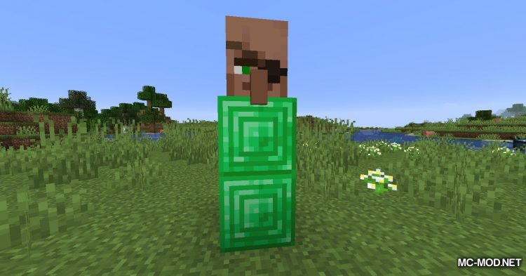 Cubic Villager mod for Minecraft (7)