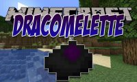 Dracomelette mod for Minecraft logo