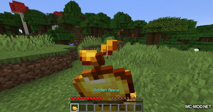 Easy Enchanted Golden Apple Recipe mod for Minecraft (4)