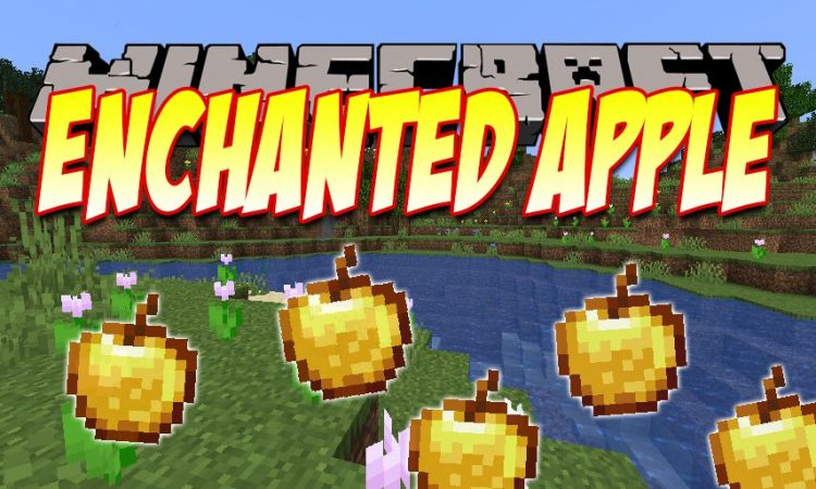 Easy Enchanted Golden Apple Recipe mod for Minecraft logo