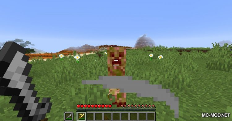 Extra Weapons mod for Minecraft (10)