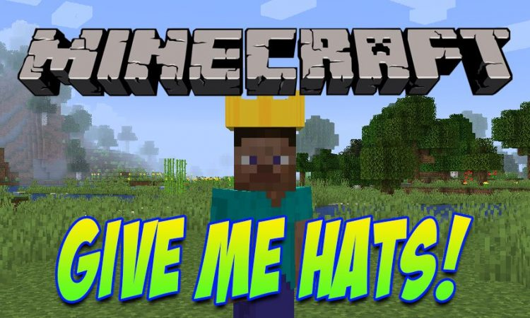 Give Me Hats mod for Minecraft logo
