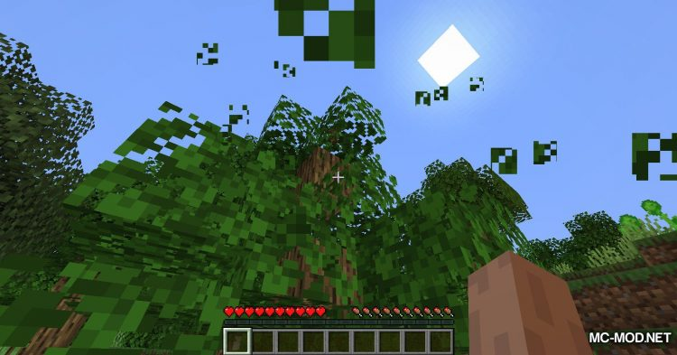 GravityBlock mod for Minecraft (3)