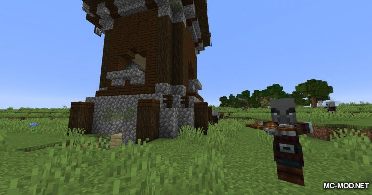 More Pillager Spawns mod for Minecraft (2)