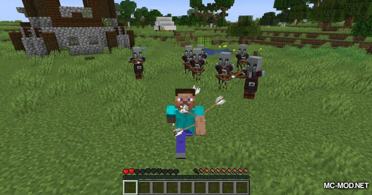 More Pillager Spawns mod for Minecraft (4)