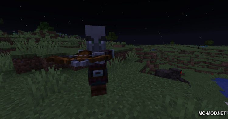More Pillager Spawns mod for Minecraft (5)