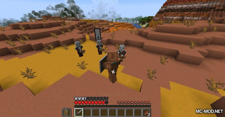 More Pillager Spawns mod for Minecraft (7)