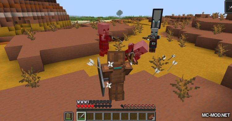 More Pillager Spawns mod for Minecraft (8)