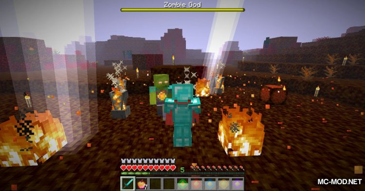 More Zombies mod for Minecraft (20)