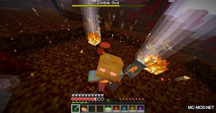 More Zombies mod for Minecraft (22)