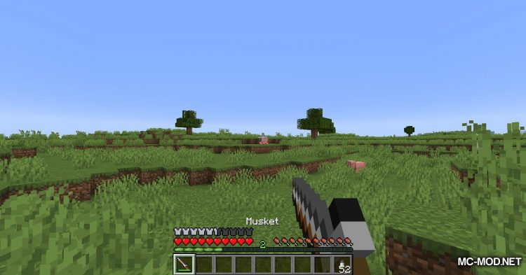 Musket Mod mod for Minecraft (12)