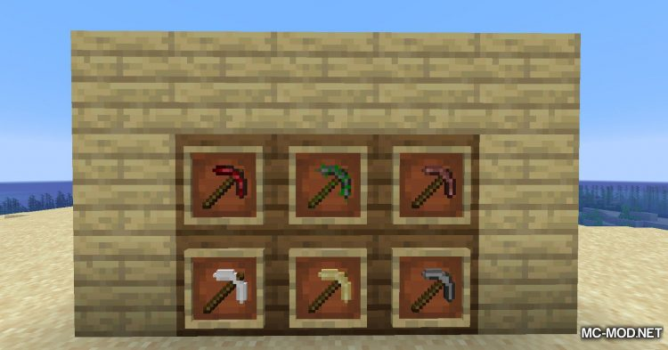 Other Stone Pickaxe mod for Minecraft (12)
