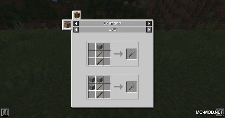 Other Stone Pickaxe mod for Minecraft (2)