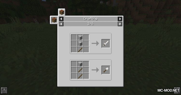 Other Stone Pickaxe mod for Minecraft (3)